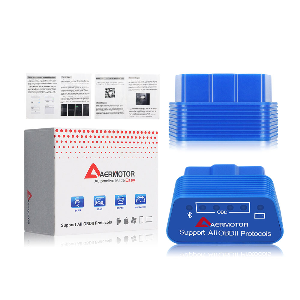 Hdf2534306d77421fb9e3b44ff195bef5c 2019 OBD2 ELM327 1.5 HH OBD Diagnostic Scanner ELM 327 V1.5 WiFi/Bluetooth OBDII Auto Code Reader Support OBD2 OBD 2 Protocols