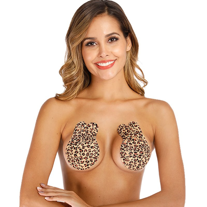 Rabbit Bra Seamless Self Adhesive Fly Strapless Push Up Bras Wireless Sticky Invisible Silicone Women Magic
