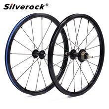 """دراجة 349 العجلات 1 3 سرعة 16x1 3/8 """"Kinlin NB R حافة القفز ل Brompton 3 ستين بايك عنصر خفيفة للطي عجلات الدراجة 800g"""