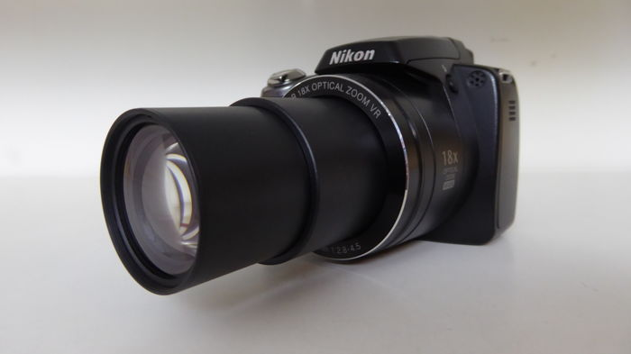 Used,Nikon Coolpix P80 10.1MP Digital Camera with 18x Wide Angle Optical Vibration Reduction Zoom (Black)