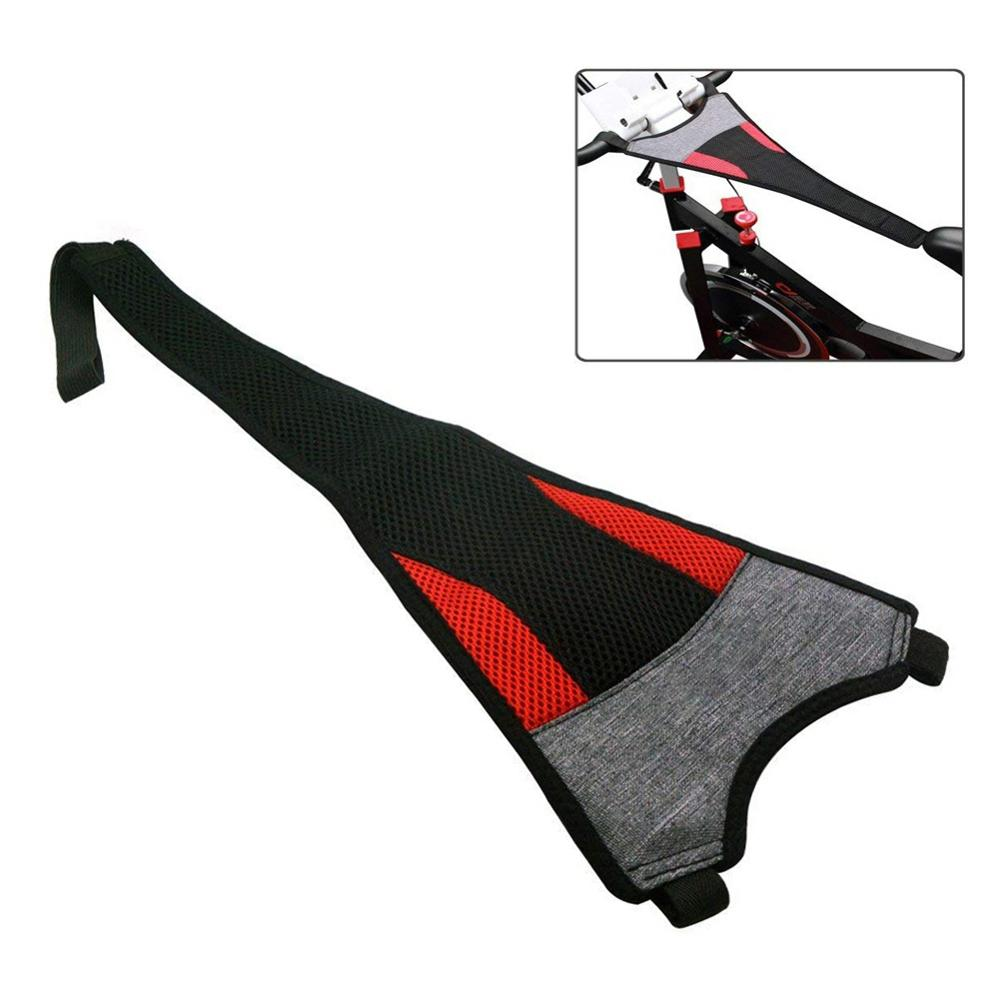 Indoor Waterproof Bike Sweatband Bicycle Trainer Sweatbands Cycling Sweatband Handlebar Accessory Sweat Net Frame Guard