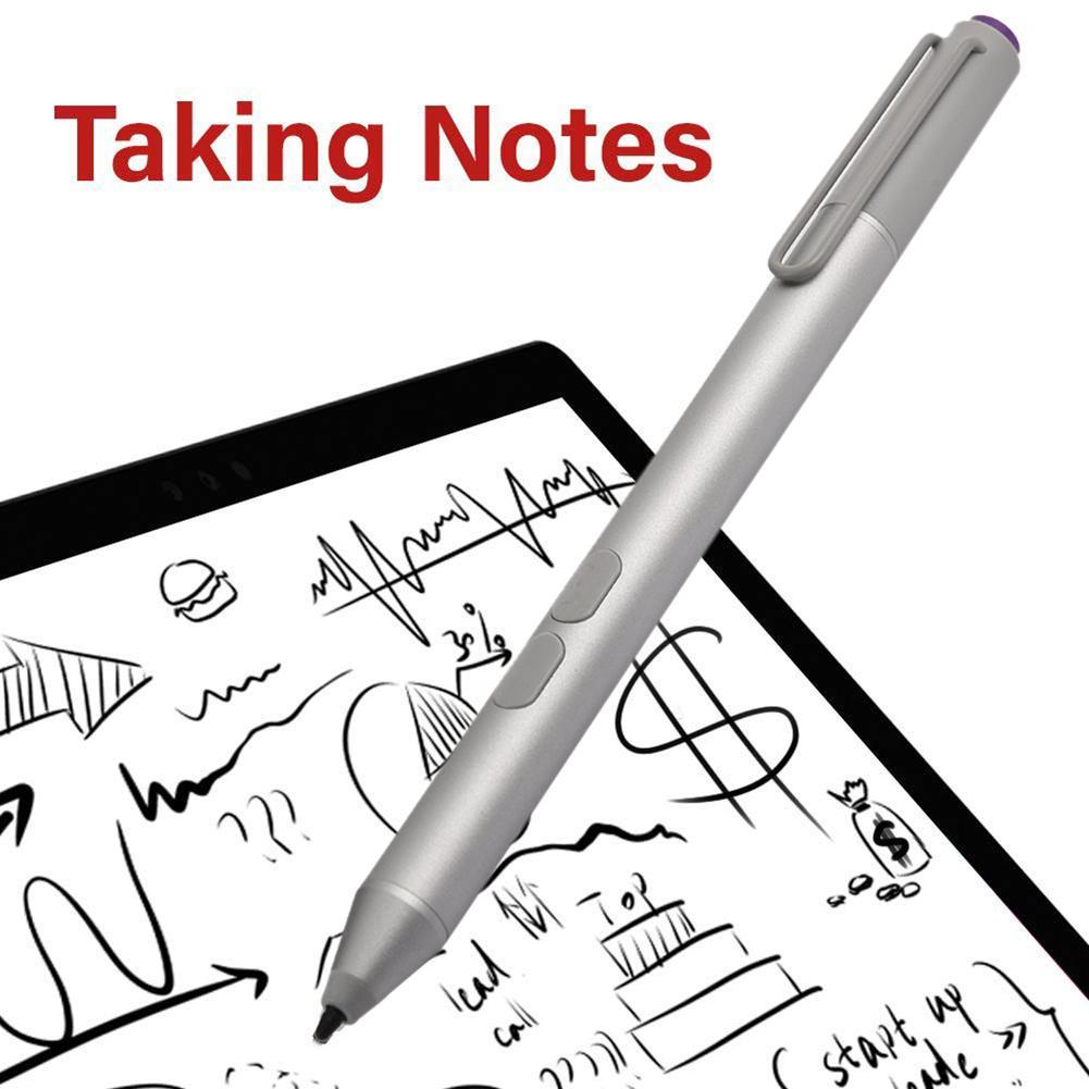 For Microsoft Surface Go Pro5 4 3 Book Stylus Pen Aluminum Alloy Electromagnetic Rechargeable Smart Tablet Stylus Pencil