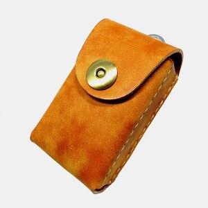 Blongk, ручная работа, натуральная кожа, универсальный автомобильный держатель для ключей, органайзер для ключей, чехол для ключей на поясе, по...