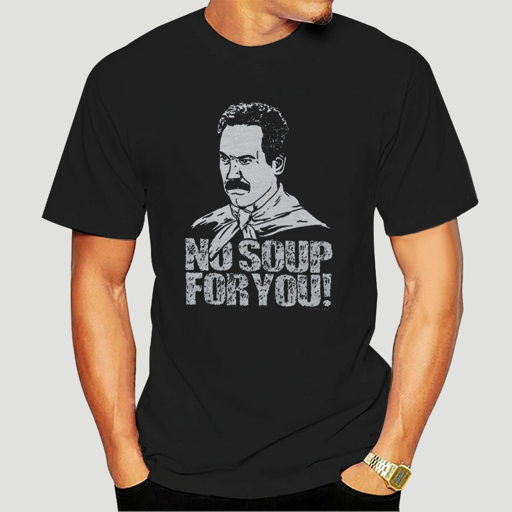 Seinfeld No Soup For You Adult T-Shirt-0083D(China)