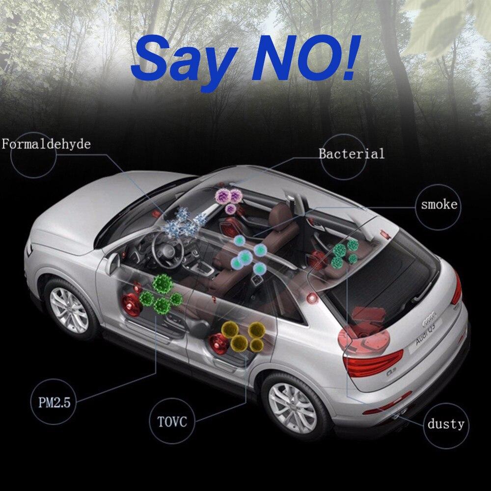 KAWOSEN Powerful Car Air Freshener,Purifier Oxygen Bar 3.8 million Ionizer for Universal 12V Car Cigarette Lighter Plug AFO_07