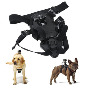 Image 3 - Fetch Dog Mount Harness Chest Strap Mount for Gopro Hero 87 6 5 4 session 3 OSMO SJCAM Xiaomi Yi 4K GO H9 PRO Camera Accessories