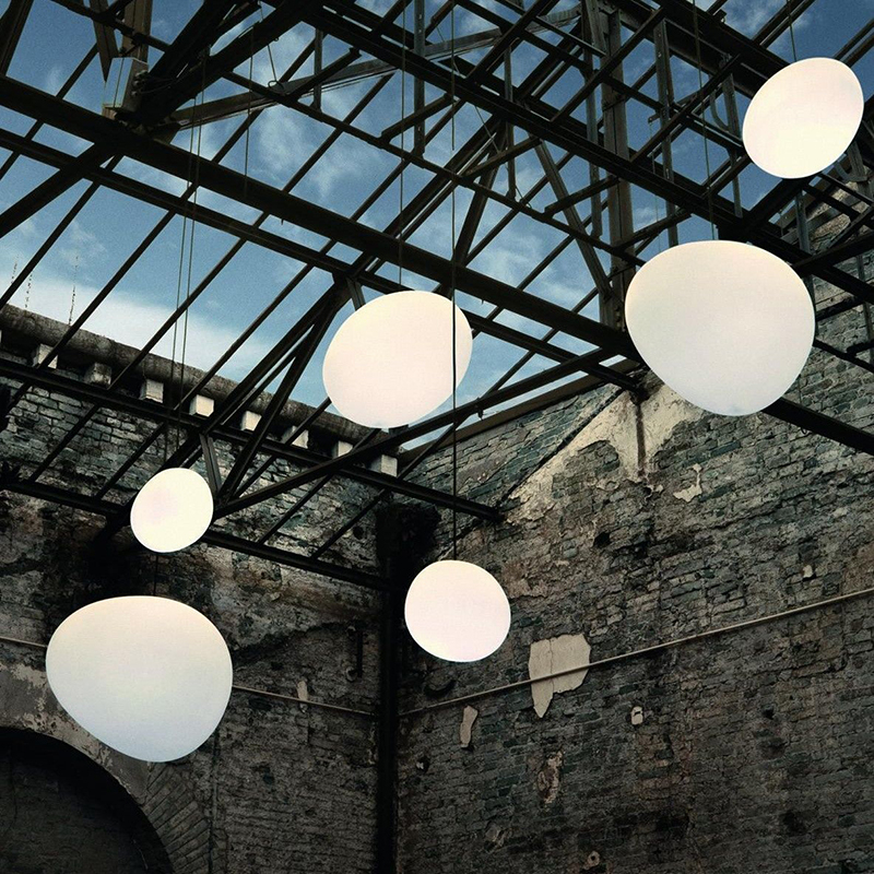 Italy Foscarini Gregg Glass Pendant Lights Modern Irregular Led Hanging Lamp Dining Room Kitchen Light Fixtures Home Loft Decor