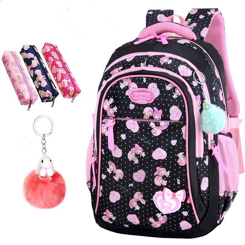 Image 4 - 2020 New Hot Sale School Bags children backpacks Large Capacity Student Bag Simple Splash proof Backpack Sweet Print BackpackSchool Bags   -