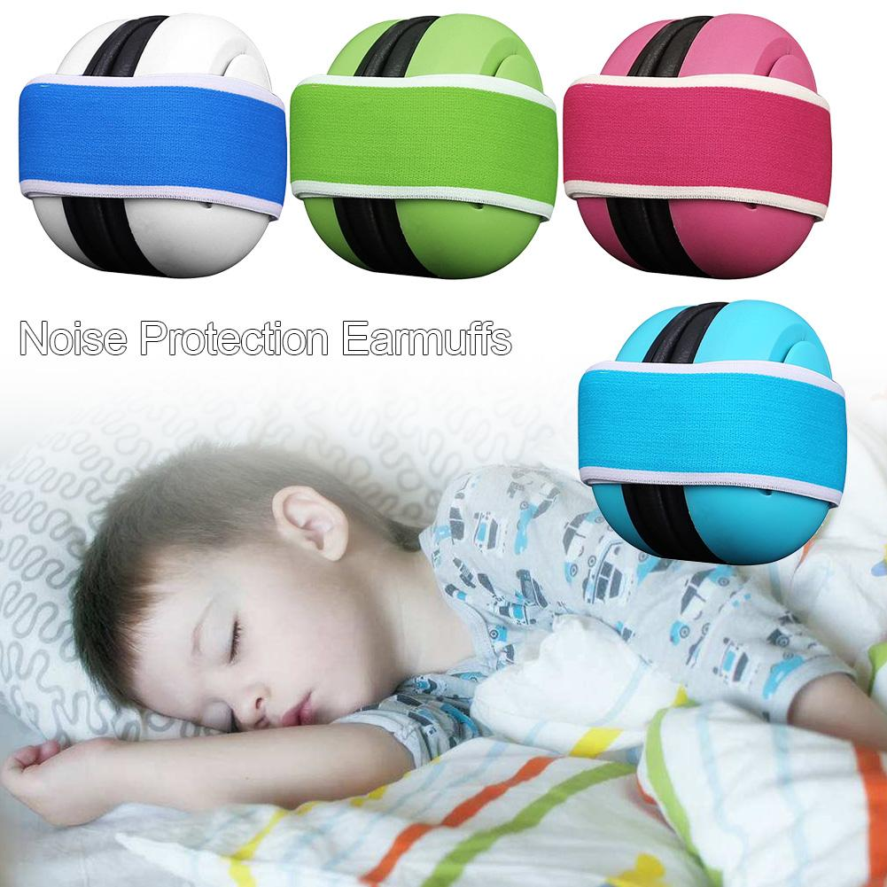 Baby Noise-proof Earmuff <font><b>Children</b></font> Sleep Ear Defenders Protection Anti-Noise Headphone Protective Earmuff Noise Reduction image