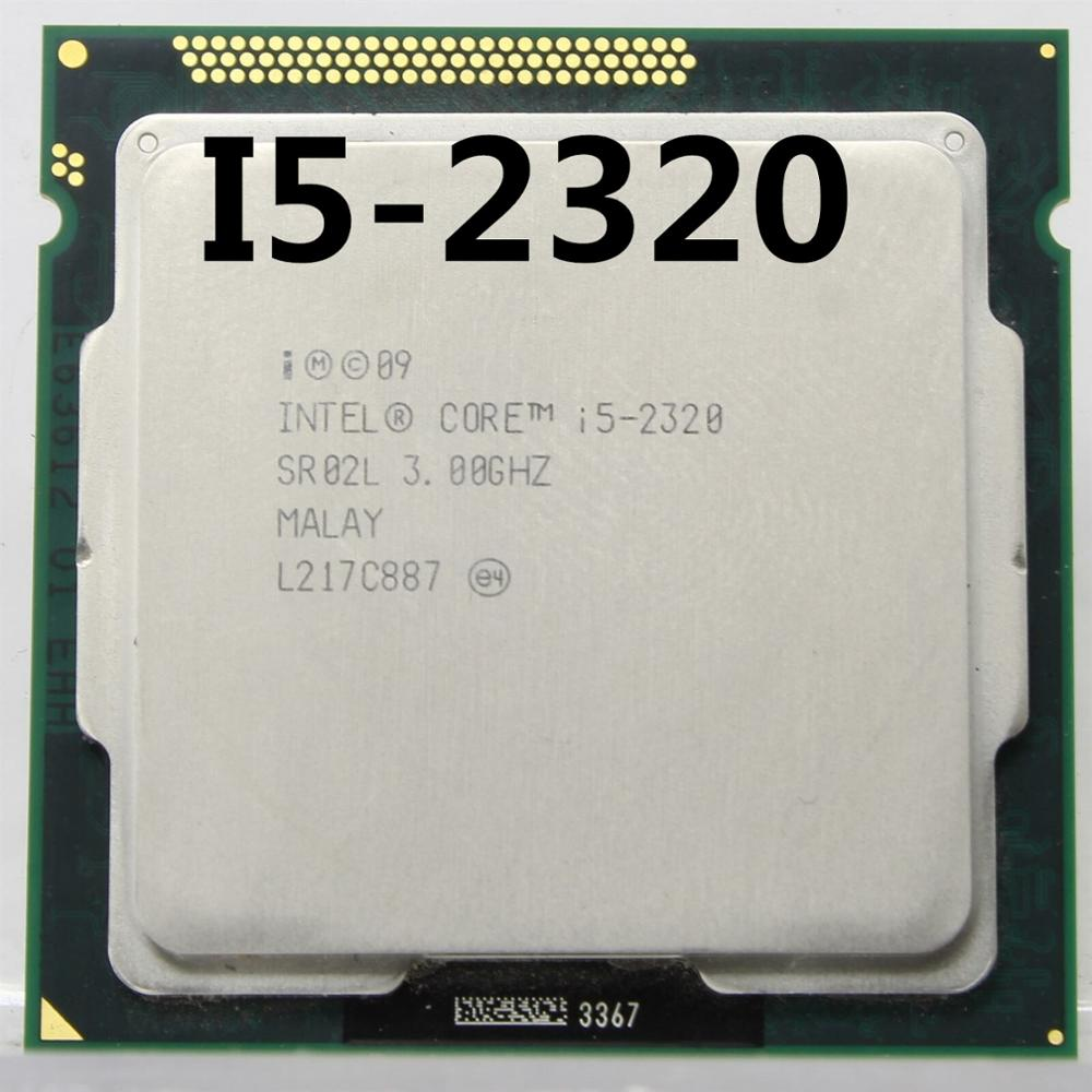 Intel Core I5 2320 I5-2320 3.0GHz/ 6MB Socket LGA 1155 CPU Processor HD 2000 Supported Memory: DDR3-1066, DDR3-1333