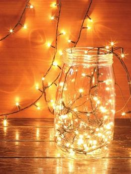 Silver Wire Fairy Warm White Garland Home Christmas Wedding Party Decoration Solar Cork String Lights 10pcs LED String Light 5m 20 led moon solar string lights outdoor fairy light string for christmas home wedding party bedroom birthday decoration