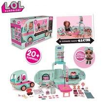 ЛОЛ Сюрприз куклы игрушки оригинальный 2-в-1 автомобиля пикник с Модель самолета набор для детей подарки на день рождения девушки