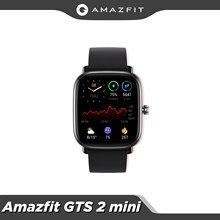 Amazfit-reloj inteligente GTS 2 Mini, dispositivo deportivo con GPS, Bluetooth 5,0, seguimiento de ciclo femenino, batería de 14 días de duración para Android