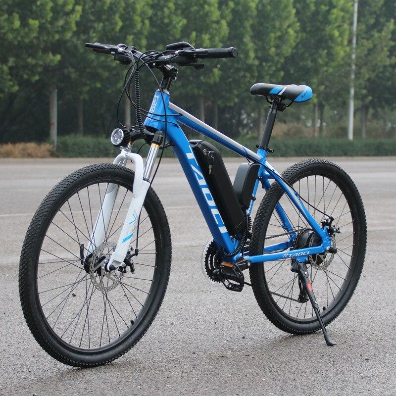 Novo tipo de bicicleta elétrica 21 velocidade 10ah 36 350 watt chaleira bateria lítio bicicleta elétrica 26 polegada liga alumínio quadro estrada el