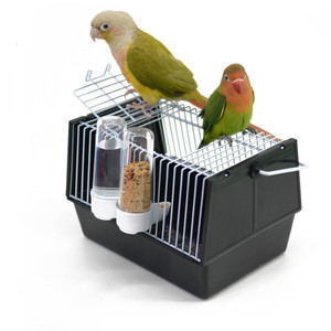 Portable bird cage to carry pa