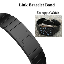 Link Bracelet watchband for apple watch band strap 5 4 iwatch 42mm 38mm 44mm 40mm 3 2 pulseirac stainless steel smatwatch belt