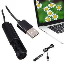 Портативный конденсаторный микрофон usb 20 для компьютера и