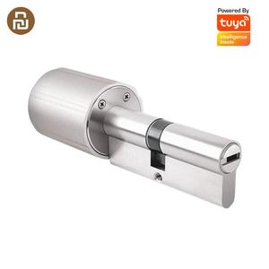 Newest Xiaomi Vima Smart Lock Home Security Practical Anti-theft Door Lock Core with Key 128-Bit Encryption Work with Tuya APP(China)