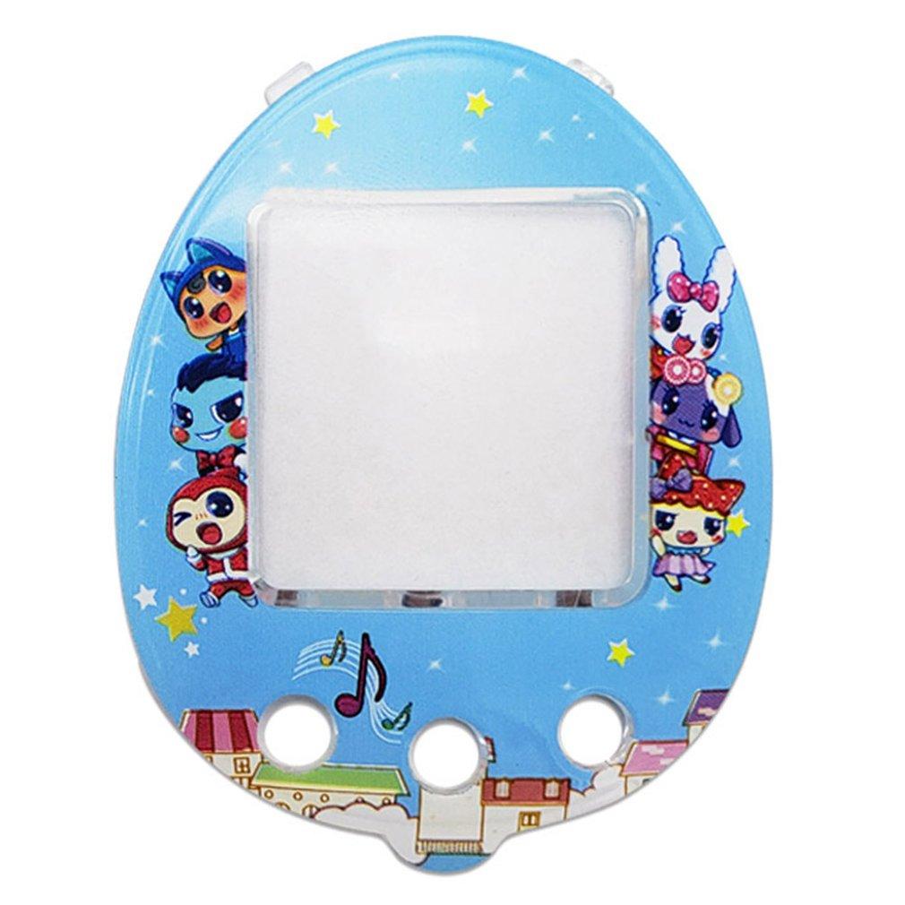 DIY Electronic Pet Machine Panel For Qpet Plastic Singer Pet Egg Game Machine Eye Protection Replacement Of Pet Machine Panels