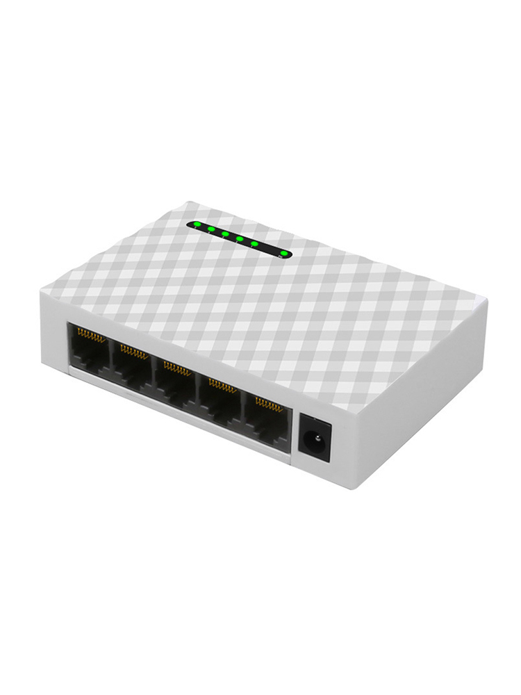 Network 5-Ports 4 Way Gigabit Switch 1000Mbps Fast Ethernet Switche Lan Hub Full/Half Duplex Exchange