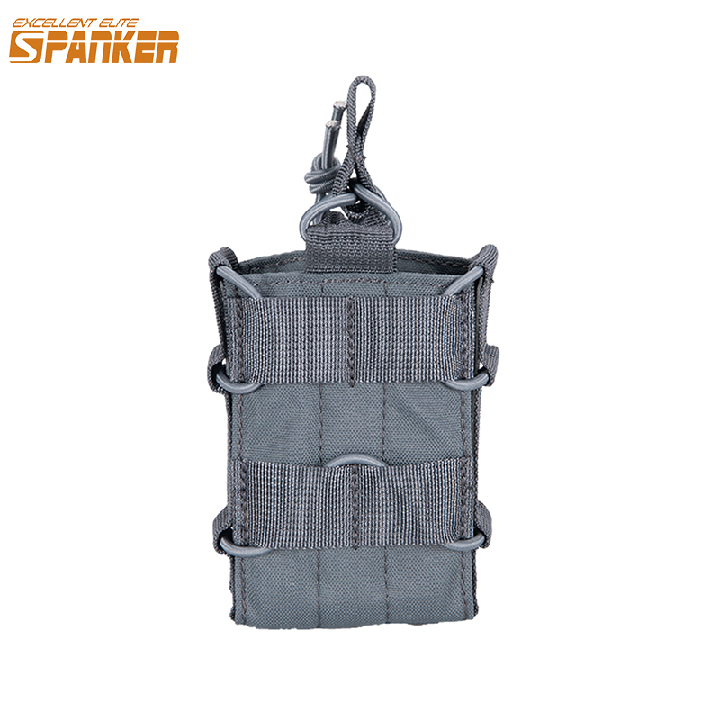 EXCELLENT ELITE SPANKER EDC Outdoor Tactical Single <font><b>M4</b></font> <font><b>Magazine</b></font> Pouch Hunting Molle Ammo Clip Pouch Military Accessories image