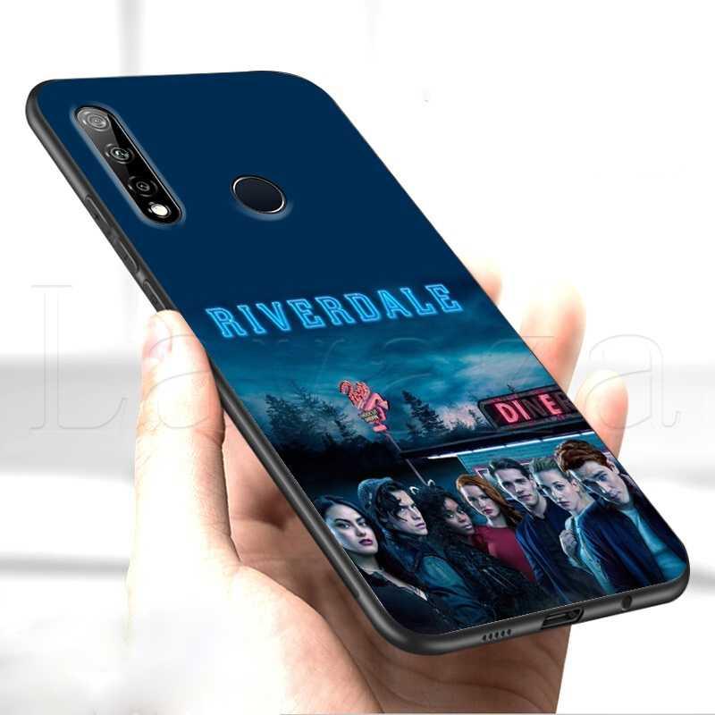 Lavaza TV Americana Riverdale Custodia Morbida per Huawei P9 P10 P20 P30 P Smart Z Y7 Più Lite Pro Prime mini 2019