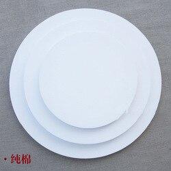 Fabrik Produktion Verarbeitung Kunst Malerei Rahmen Reine Baumwolle Gestreckt Leinwand Kreis Durchmesser 203040506080 Ölgemälde Rahmen