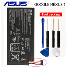 цена на Original ASUS C11-ME370T Battery For ASUS ME370T ME3PNJ3 GOOGLE NEXUS 7 Table PC Laptop battery Wifi + 3G Version 4270mAh