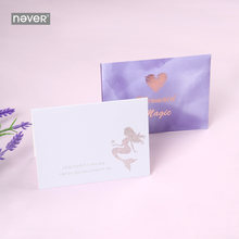 Карточка с надписью «never mermaid»