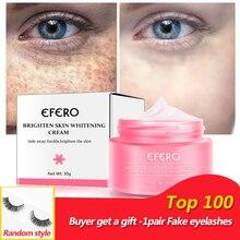 Face Whitening Cream Brighten Skin Collagen Moisturizing Serum Pigmentation Removal Melasma