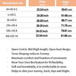 Image 2 - Womens Open Bust Corset Body Shaper Thigh Reducer Firm Tummy Control Shapewear Bodysuit Fajas Colombianas Slimming Underwear