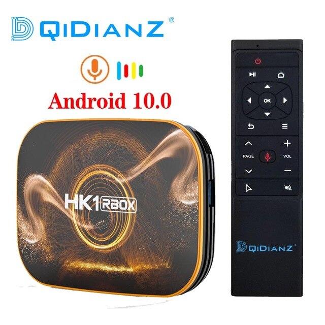 HK1 R1 RBOX TV Box Android 10.0 Rockchip RK3318 USB3.0 1080P H.265 4K Youtube HK1 RBOX Set Top BOX PK T95 TX6S Andriod 9.0