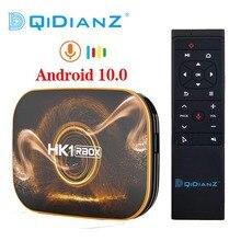 HK1 R1 RBOX TV, pudełko z systemem Android 10.0 Rockchip RK3318 USB3.0 1080P H.265 4K Youtube HK1 RBOX Set Top Box PK T95 TX6S Andriod 9.0