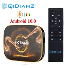 TV Box HK1 R1, Android 10,0, Rockchip, RK3318, USB 3,0, 1080P, H.265, 4K, Youtube, RBOX, PK T95, TX6S, Android 9,0