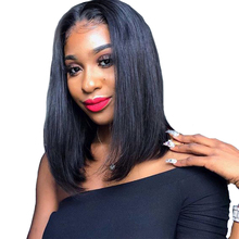Human Hair Wigs Short Human Hair Wigs 13�2 Lace Wig Human Hair For Black Women Natural Color 2# Brown 4# Dorisy Non Remy Hair
