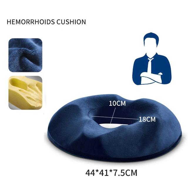 Anti Hemorrhoid Orthopedic Foam Tailbone Pillow