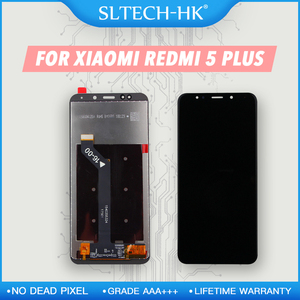 10-Touch AAA+++ For Xiaomi Redmi 5 Plus LCD With Frame Display Screen Replacement For Redmi 5 Plus LCD Screen Snapdragon 625