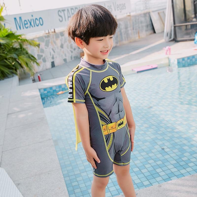 2019 New Style KID'S Swimwear BOY'S Baby Swim Bathing Suit Batman CHILDREN'S Children Swimming Trunks