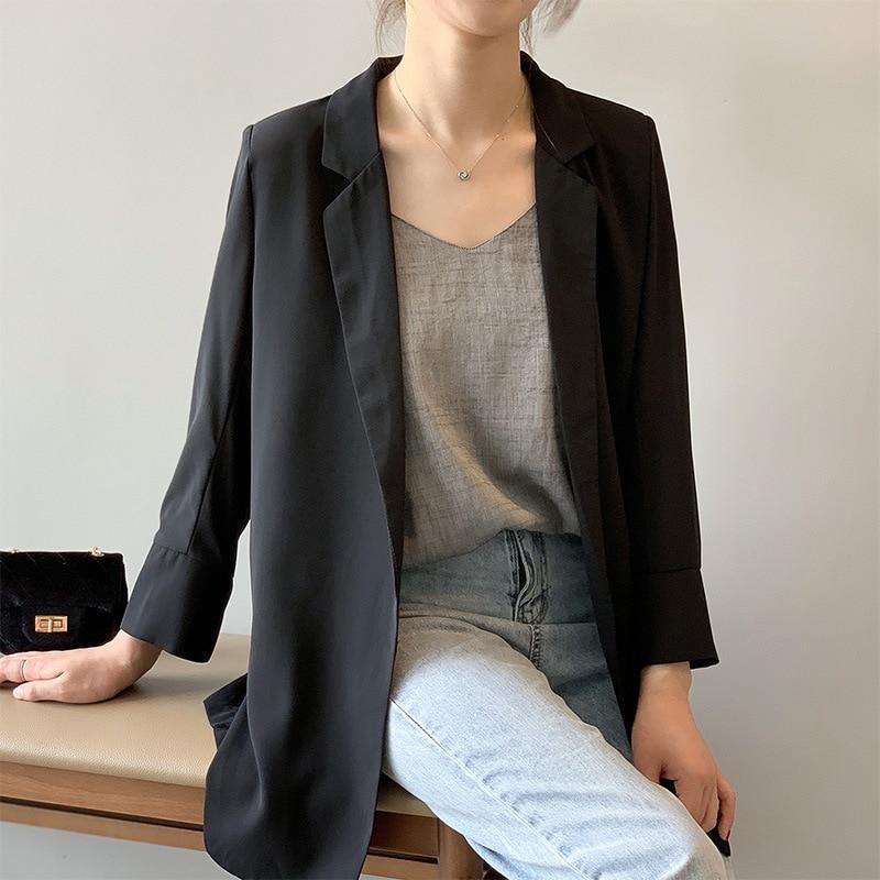 New Women Blazer Suit Female 2019 New Korean Version Loose Long Sleeve Women Clothes Blaiser Feminino Blazer Femme New Hot Sale