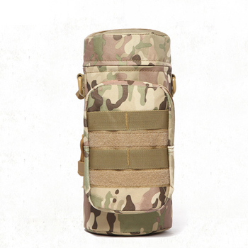 Military Kettle Bag for Molle Tactical Backpack Army Water Bottle Bag Pouch Outdoor Hunting Hiking Waist Kettle Pouch Waist Bag 6