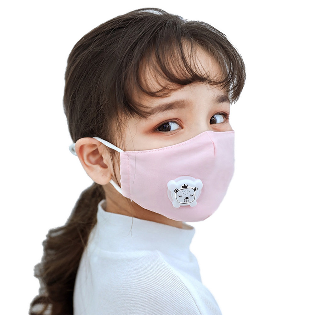 Filter  Respirator Breath valve Anti-Dust Mask Activated carbon  For kids