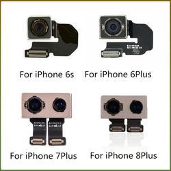الكاميرا الخلفية ل iphone 5S 6 6s 7 8 زائد x XR XS XS ماكس الكاميرا الخلفية الخلفية عدسة فليكس قطع غيار الكابل الرئيسي ل iphone 6 6S