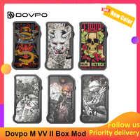 Dovpo M VV II 280W caja Mod Poder dual 18650 y 3-indicador LED Mod vape del arrastre 2/ijoy shogun