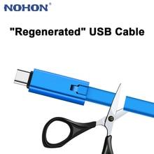 NOHON Regenerate Micro USB Cable Repairable USB Type