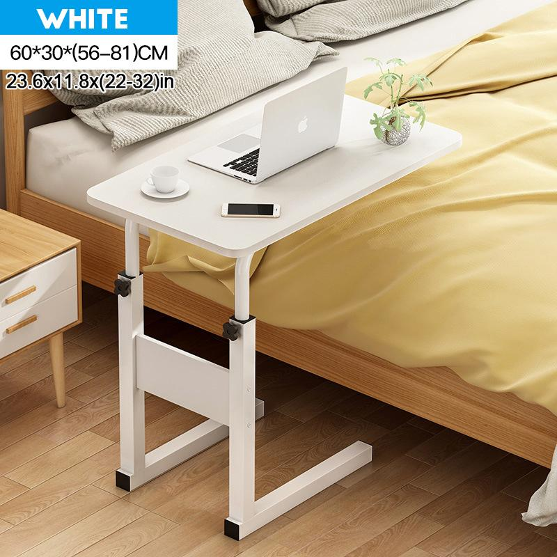60x30CM/60x40CM Lifting Computer Table Adjustable Portable Laptop Desk Rotate Laptop Bed Table Can Be Lifted Standing Desk