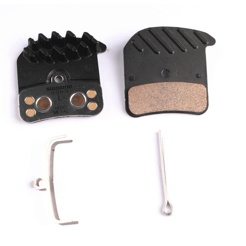 SHIMANO Disc Brake Pads H03C Saint Zee BR M820 M640 Metal FIN Pad Set