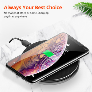 Image 3 - 10W Qi Draadloze Oplader Voor iphone 11 Pro Xs Max X 8 Plus Snelle Opladen Pad voor Samsung S10 + s9 S8 Huawei P30 Pro Mate 30 20