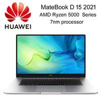 Mejor HUAWEI MateBook D portátil de 15 2021 AMD Serie 5000 procesador Intel Iris Xe GPU i5-1135G7 FHD mate pantalla con WiFi 6 tipo-C