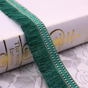 1 ярдов/партия шелковые кисточки бахрома отделка кружевные ленты с отделкой вышивка кружевная ткань швейная одежда кисти для занавесок для ...