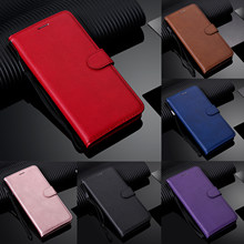 Leather Flip Wallet Case for Xiaomi Redmi Note 8T 8 7 6 5 Pro 4x Red MI 5 Plus 8A 4A 9 Note 10 Funda+Strap Poco F1 Stand Cover(China)